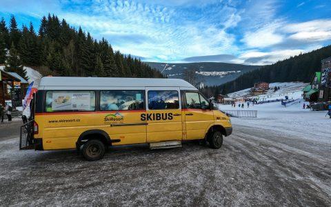 Skibus Pec pod Sněžkou javor zluty