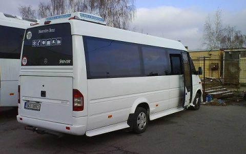 Mercedes Sprinter tourbus